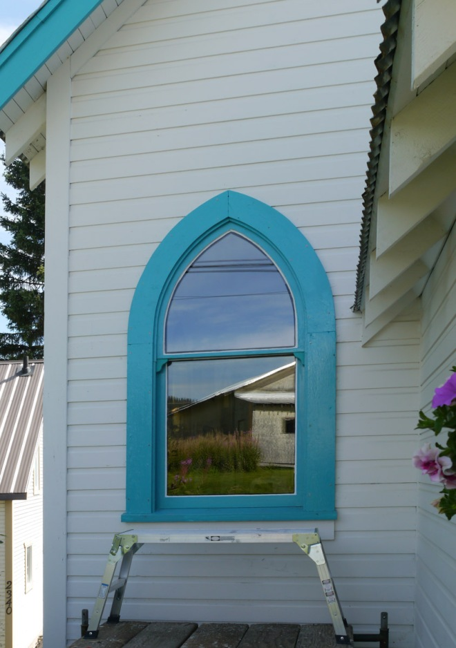 A new window from outside.