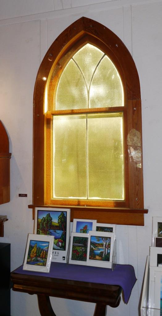 An original window from inside.