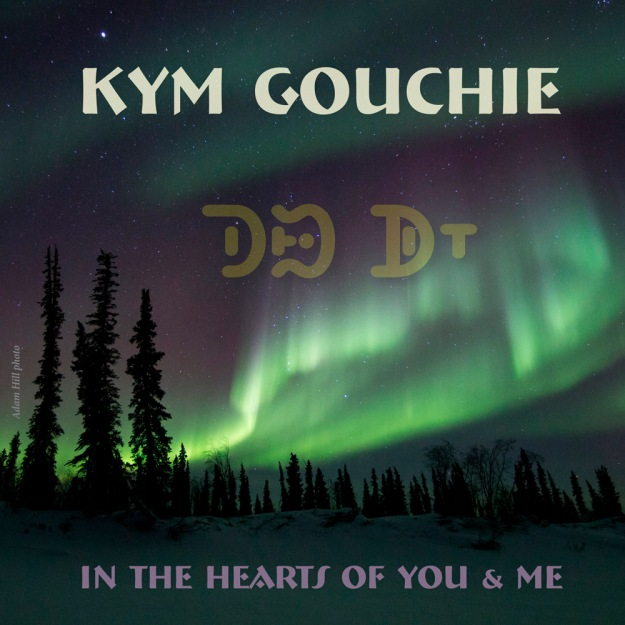 Kym Gouchie's CD cover; photo courtesy of Adam Hill; thanks to Bill Poser for Carrier syllabics.
