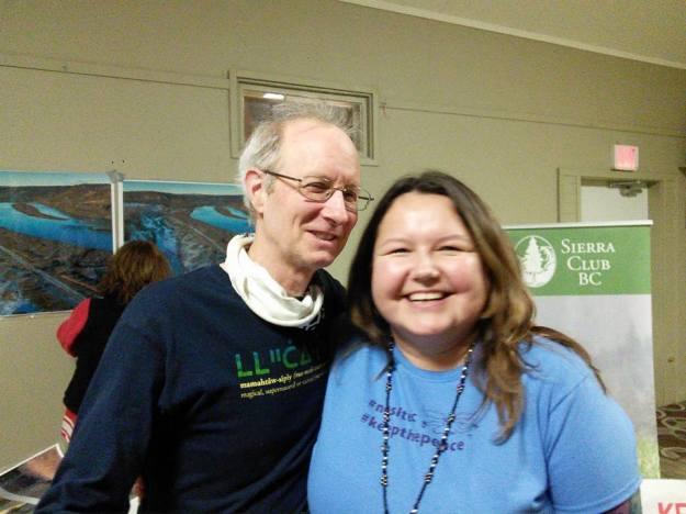 Bill & Yvonne in Quesnel.
