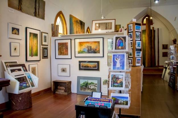 Gallery interior.